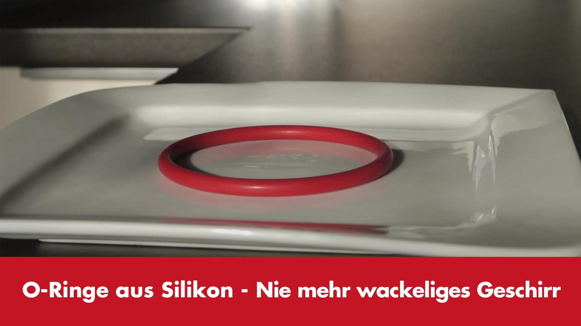 Video-Vorschaubild Silikon-O-Ringe im Geschirrschrank