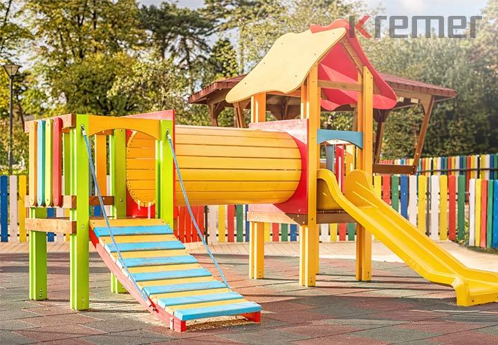 Formteil Podestabdeckung TPE Spielplatz