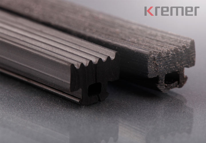 KREMER - Rapidprototyping und Serienteil Glasauflageprofil Detailansicht