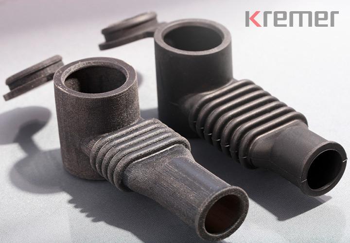 KREMER - TPE Formteil Anwendungsbeispiel: Schutzkappe aus TPE