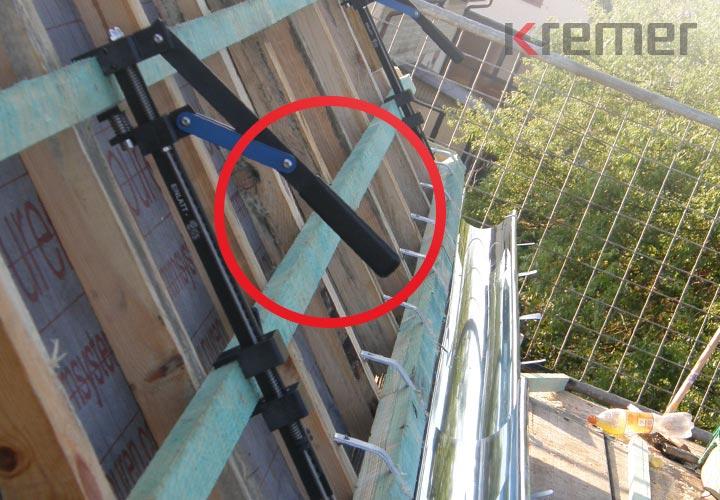 KREMER - Dachdeckergriffe für Arbeitsschutz als Dachdecker