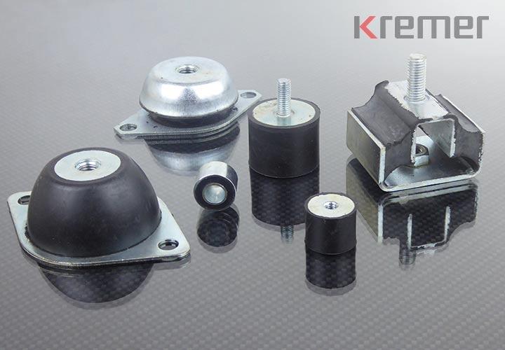 KREMER - Metallpuffer aus Gummi
