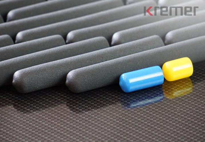 KREMER - Sondermaterial mit Perlprofilstruktur-Optik