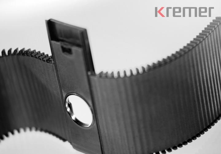 KREMER – Formteil aus Polyamid mit Glasfaser und TPE