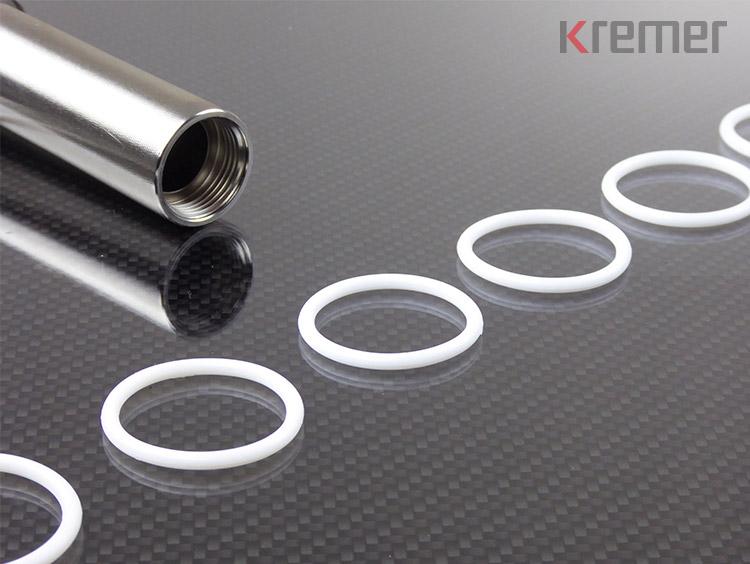 KREMER – Weiße O-Ringe aus FFKM/Krevolast