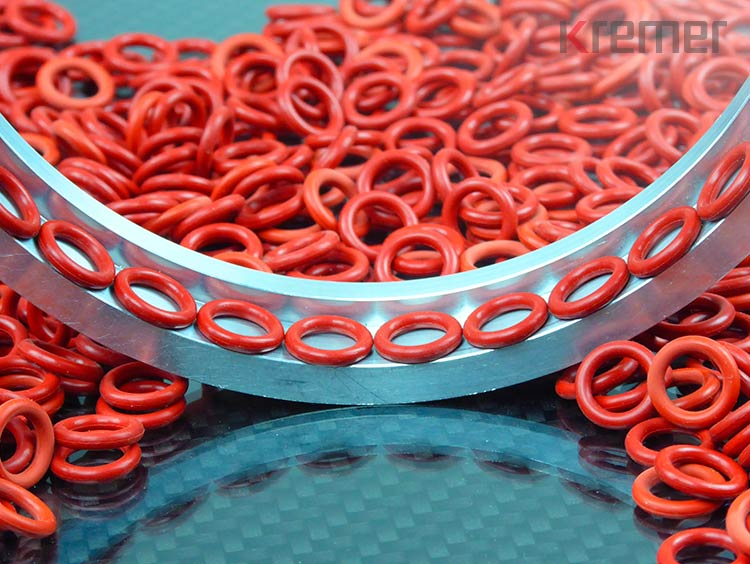 KREMER – Rote O-Ringe aus Silikon