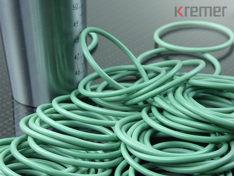 KREMER - Grüne O-Ringe aus FKM/FPM