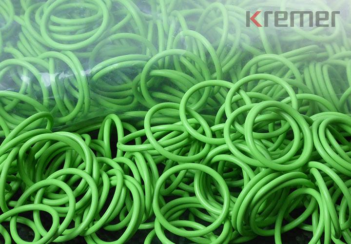 KREMER – Silikon, 60 Shore A, grün, verpackt im PE-Beutel