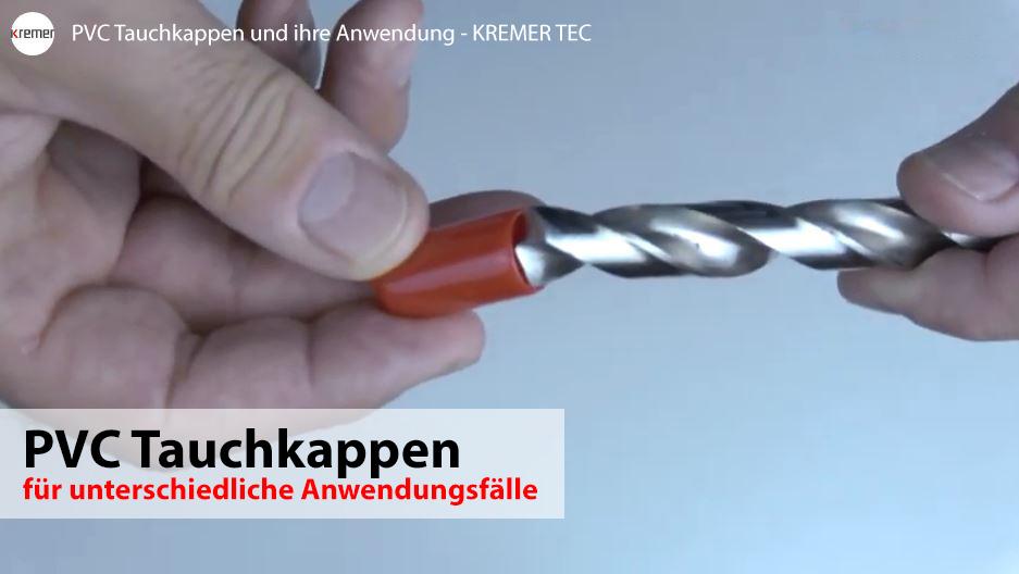 PVC Tauchkappen Video 3