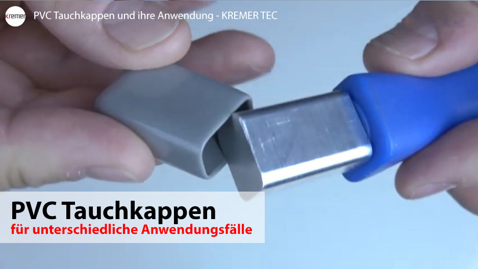 PVC Tauchkappen Video 2