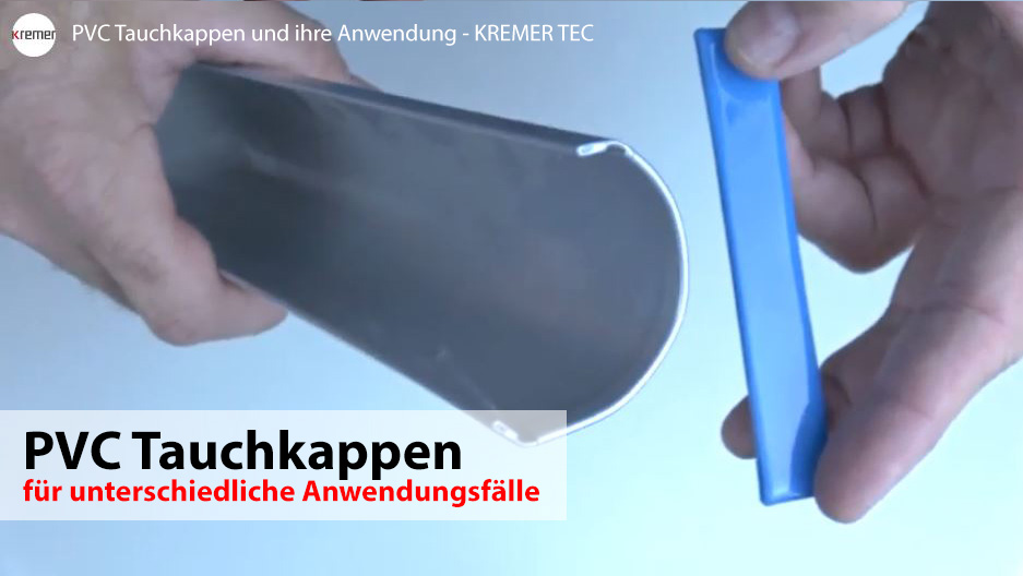 PVC Tauchkappen Video 1