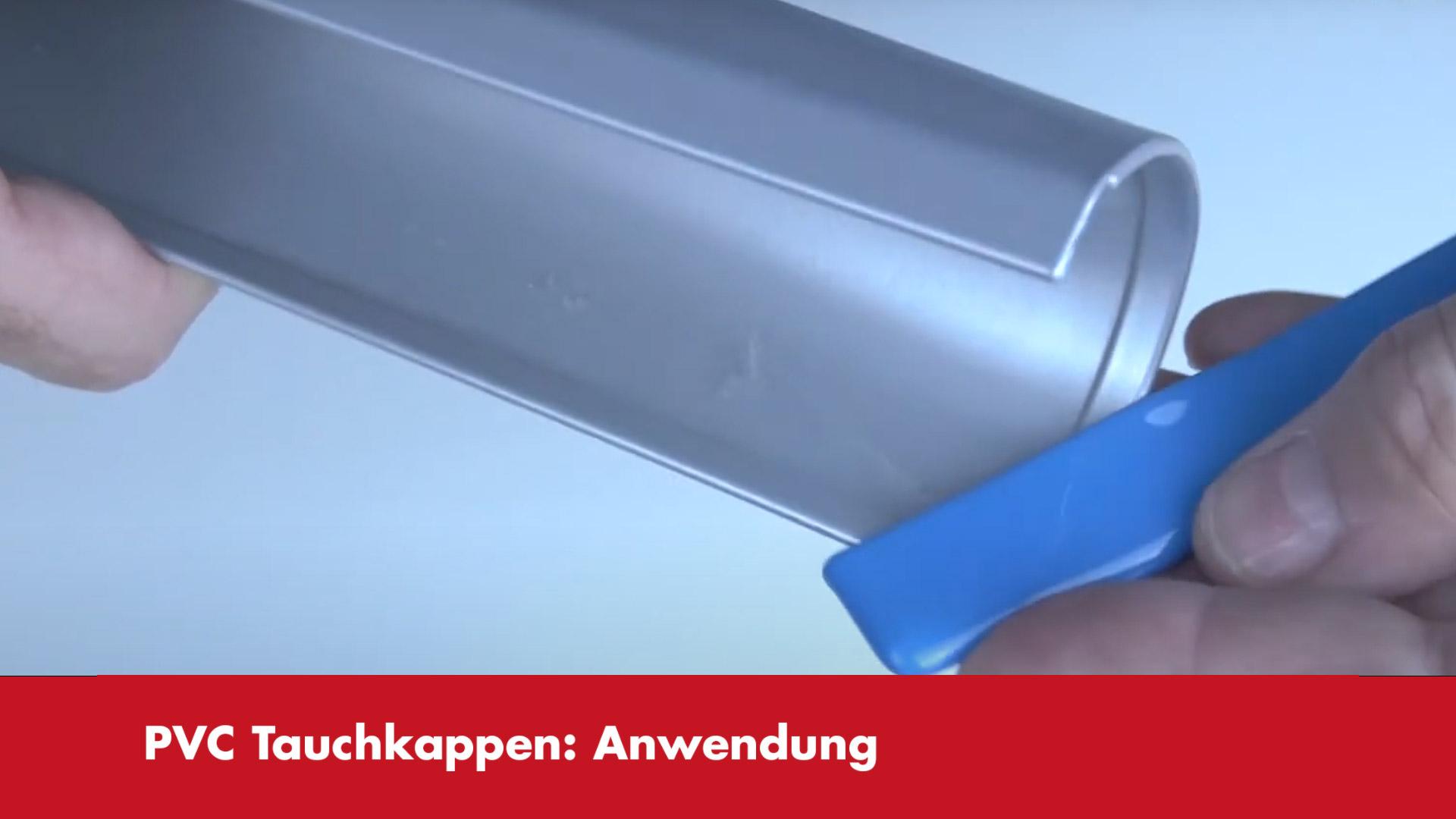 Video-Vorschaubild PVC-Tauchkappen Anwendungsbeispiele