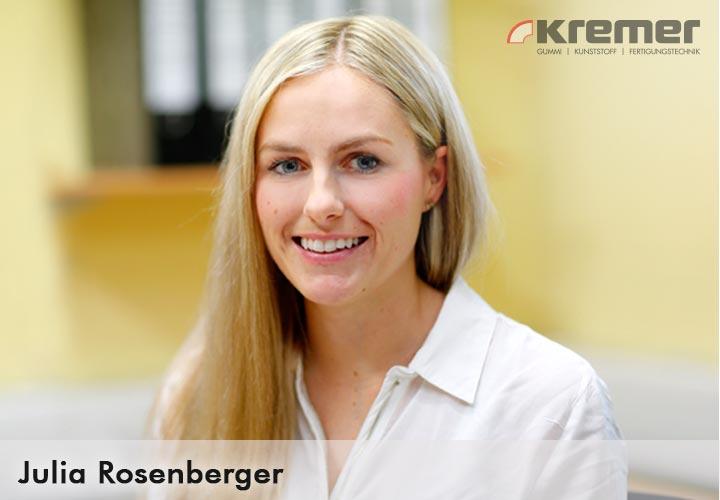 Kundenservice Julia Rosenberger