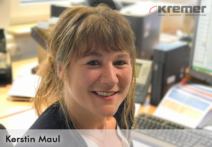 Kerstin Maul, Verkauf O-Ringe Kremer GmbH Wächtersbach