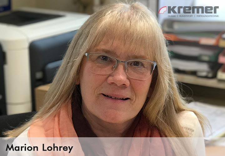 Marion Lohrey, Leitung Versand Kremer GmbH Wächtersbach