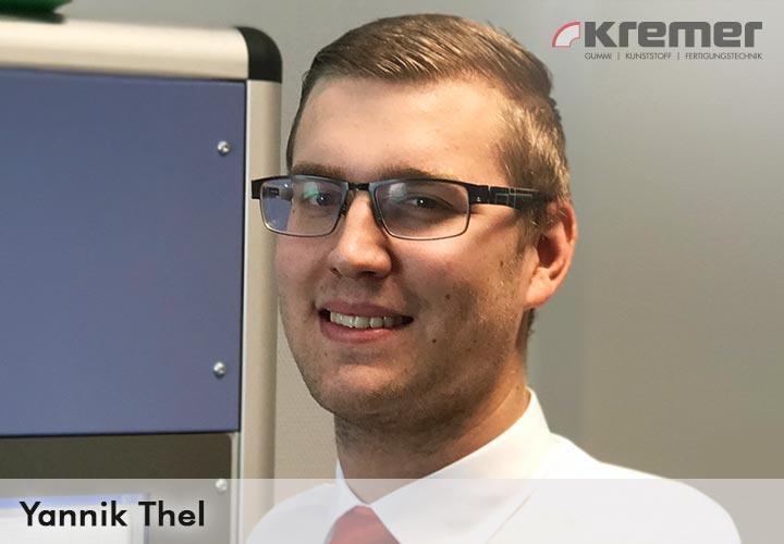 Yannik Thel, Qualitätsmanagement und Logistik Kremer GmbH Wächtersbach