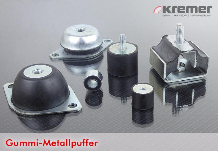 Kremer Gummi-Metallpuffer