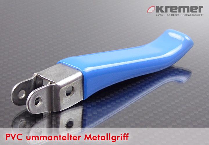 Metallgriff, PVC ummantelt