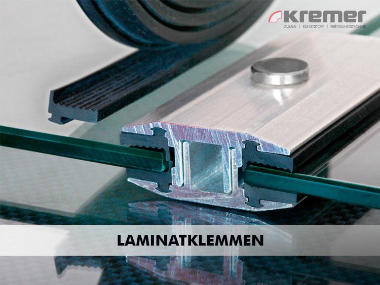 Laminatklemmen zur Befestigung von Solarmodulen werden aus weichem, UV-beständigem EPDM gefertigt.