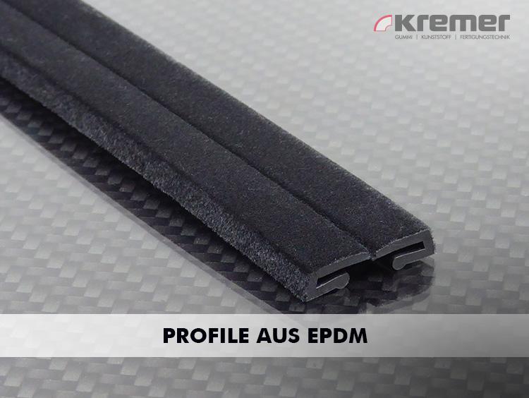 Ihre Witterungsbeständigkeit prädestiniert EPDM-Profile zum Einsatz bei Türen und Fensters, im Fassadenbau und in der Klima- und Lüftungstechnik.
