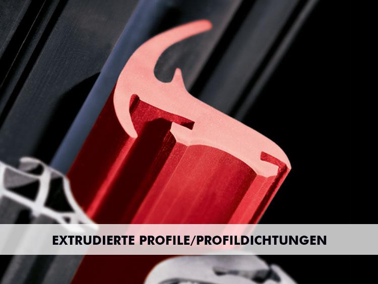 Extrudierte Profile