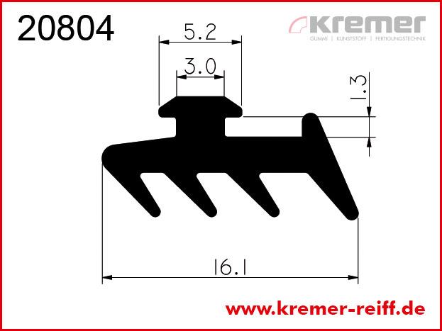EPDM Keildichtung DIN 7863-1 oder CR