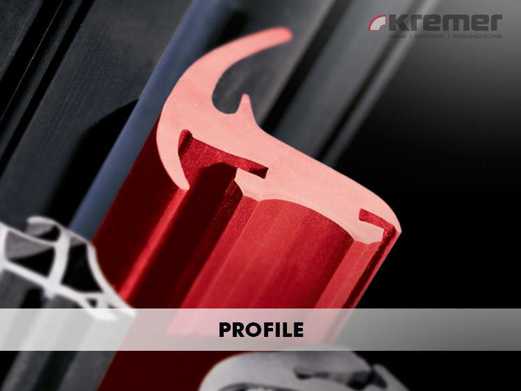 Sie erhalten extrudierte Profile aus EPDM, Silikonprofile oder Profildichtungen als Meterware oder in bedarfsgerechten Abschnitten konfektioniert. ...mehr