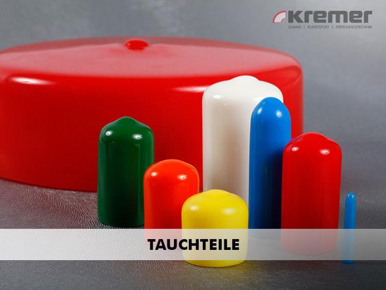 PVC-Tauchteile (Rundkappen, Rechteckkappen, Griffe). Über unsere Schnellsuche für PVC-Tauchteile finden Sie schnell das  gewünschte Produkt. ...mehr