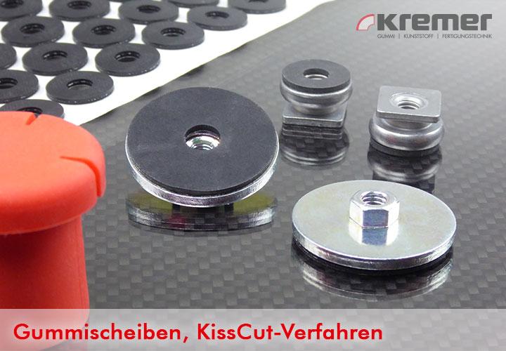 Gummischeiben - Herstellung über Kiss Cut Verfahren