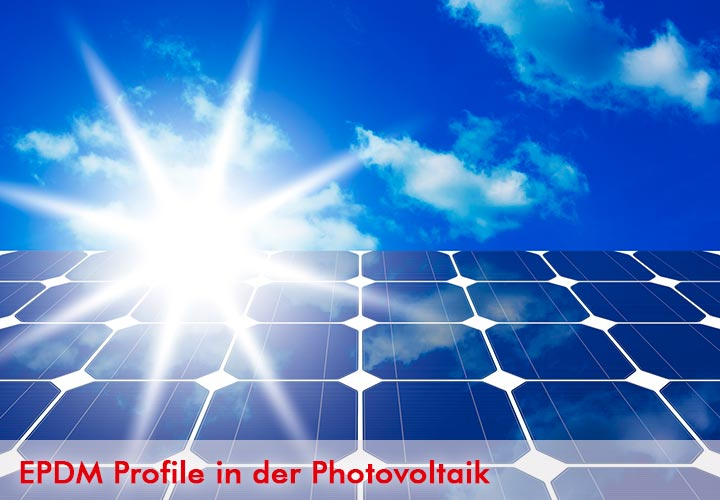 EPDM-Profile in der Photovoltaik