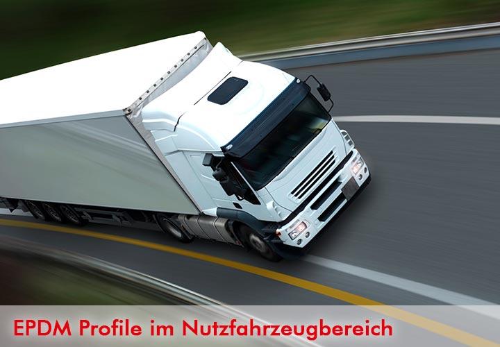EPDM Profile für den Nutzfahrzeugbau
