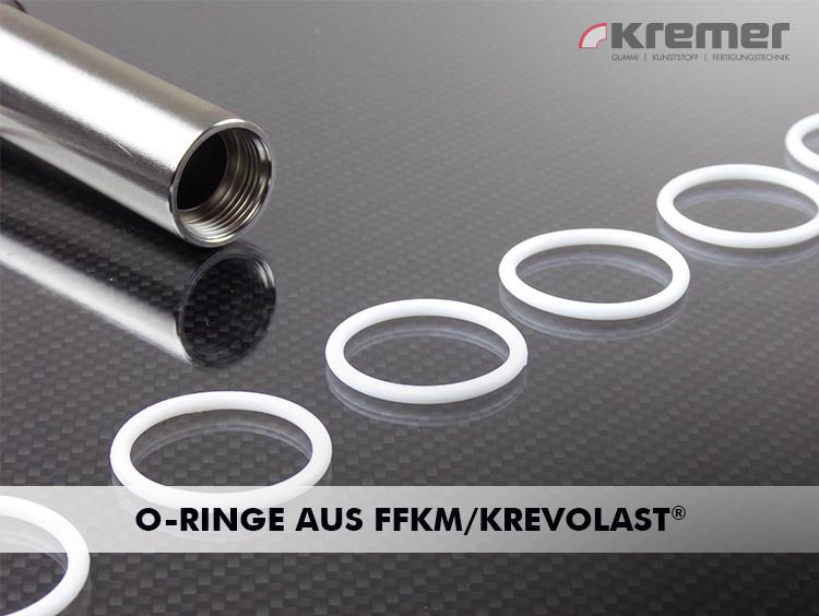 Spezialwerkstoff Krevolast® (FFKM/FFPM) leistungsstark auch bei höchsten chemischen Beanspruchungen ...