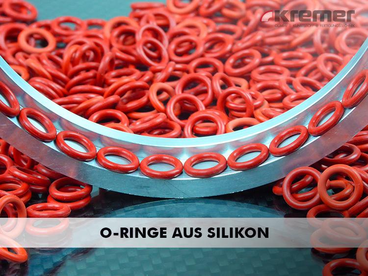 O-Ringe aus Silikon besitzen hervorragende elektrische Isoliereigenschaften ...