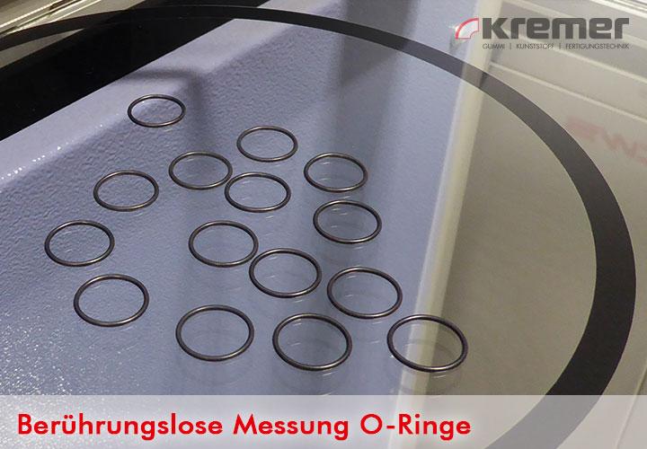 Berührungslose Messung von O-Ringen