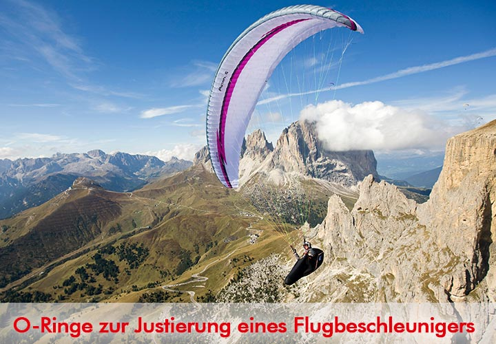 O-Ringe Flugbeschleuniger Paragliding
