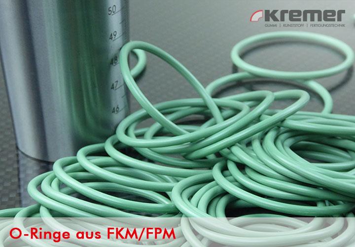 O-Ringe aus FKM/FPM