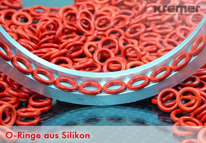 O-Ringe aus Silikon