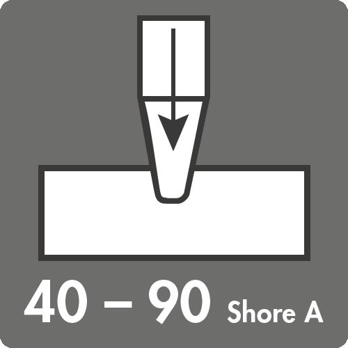 Härtebereich (Shore A): 40 bis 90