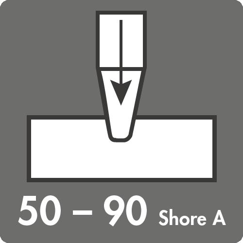 Härtebereich (Shore A): 50 bis 90