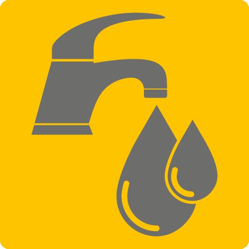 Trinkwassergüte: auf Anfrage
