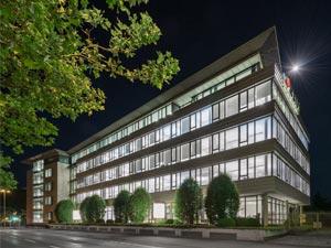 Das Unternehmensgebäude der REIFF Zentrale